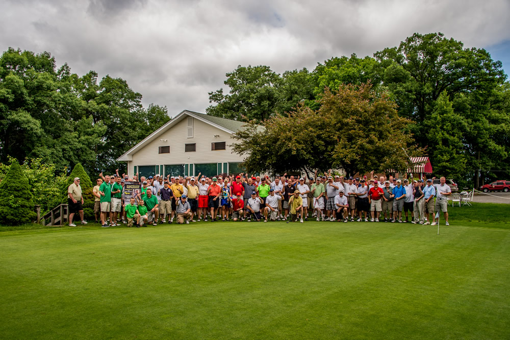 Golf Outing Group Shot